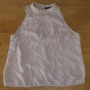 OTTE silk nude blouse size M